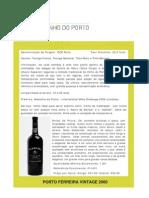 PORTO FERREIRA VINTAGE 2000