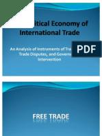 The Political Economy of International Trade FINAL