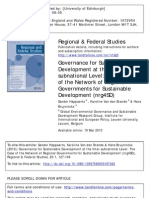 Happaerts - Regional Governments and Sustainable Development