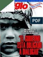 El Siglo, nº 1524, septiembre 2010