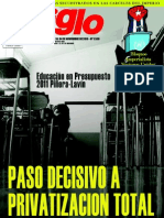 El Siglo, nº 1530, octubre-noviembre 2010