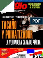 El Siglo, nº 1534, noviembre-diciembre 2010