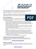 Using SLOODLE- Cheat Sheet 1