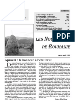 2004-04-01les Nouvelles de Roumanie