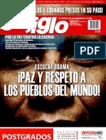 El Siglo, nº 1550, marzo 2011