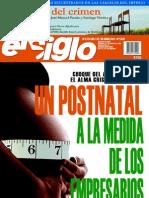 El Siglo, nº 1552, abril 2011