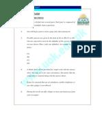Sample Aptitude Test of MBA Karachi University