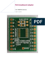 TSSOP20 adapter