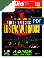 El Siglo, nº 1572, agosto 2011