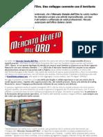 Mercato Veneto dell'Oro apre la propra esperienza al Franchising del Compro Oro