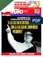 El Siglo, nº 1574, septiembre 2011