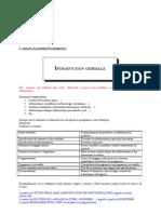 Chapitre 1 Introduction Generale
