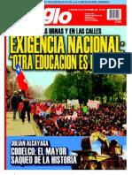 El Siglo, nº 1581, octubre 2011