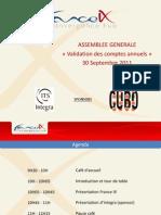 France IX - AG Septembre 2011