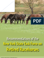 NYS Task Force on Retired Racehorses -- FINAL REPORT