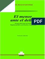 Antonio, Daniel H. - El Menor Ante El Delito - 2004