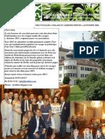 lettre d'information hortibus rentrée 2012