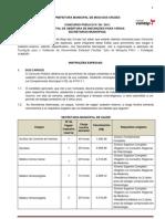 EDITAL ABERTURA 56-2011 (Diversas Secretarias)