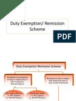 Duty Exemption