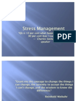 Stress and Conflict Management - Personality types