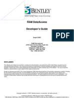 RAM Data Access Developers Guide