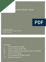 Health Economics- Lecture Ch07