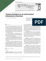 Terapia Biologica en La Enfermedad Inflamatoria Intestinal