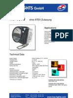 KS8500 ATEX LAMP