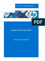 HP Education Services Schedule Jan-June 2012 v1.3