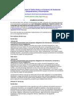 LEY ORGÁNICA CONTRA EL TRÁFICO ILÍCITO Y EL CONSUMO DE SUSTANCIAS ESTUPEFACIENTES Y PSICOTRÓPICAS