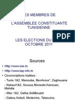 70493489 Liste Des Elus de l Assemblee Constituante Tunisienne 2011