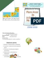 Plano Anual de Actividades 08 09 Pre Escolar