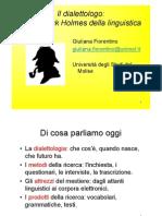 Il_dialettologo