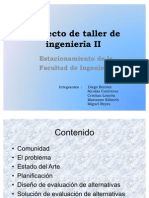 Proyecto de taller de ingeniería II