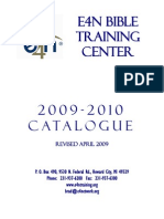 E4N Bible Training Center Catalog