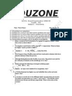 Chemistry Sample Paper 12th 1