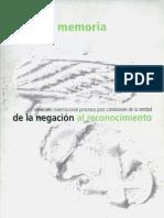COMISION DE LA VERDAD Y RECONCILIACION-Perú