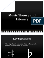 Music Theory and Literacy