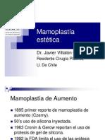 Mamoplastía Estética