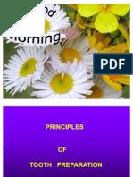 Principles of Tooth Preparation Punam Bishnoi