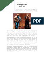Spleen Poetry Bio by Adriana Rubio