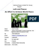 Youth and Peace