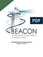 Beacon Student Post Doc Info 2016