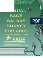 2003 Salary Survey