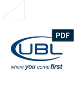 Internship Report of Ubl for Finance