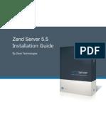 Zend Server Installation Guide 5 5