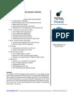 I2C Datasheet