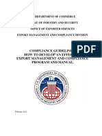 BIS Compliance Guidelines