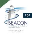 Beacon Student Post Doc Info 2012