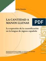 La Cantidad a Manos Llenas-Ana m.fernandez Soneira